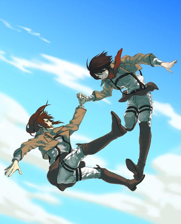 Image 89 : Sasha et Mikasa [ Partie 3 ]