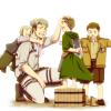 Image 203 : La famille Brossard