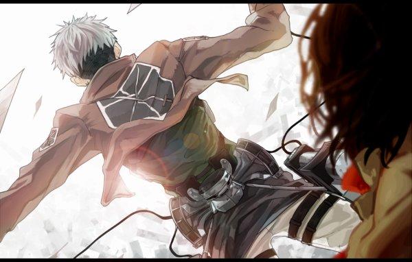 Image 205 : Jean x Mikasa [ Partie 2 ]