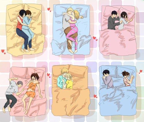Image 208 : Tu préfére quelle facon Dormir xD ?