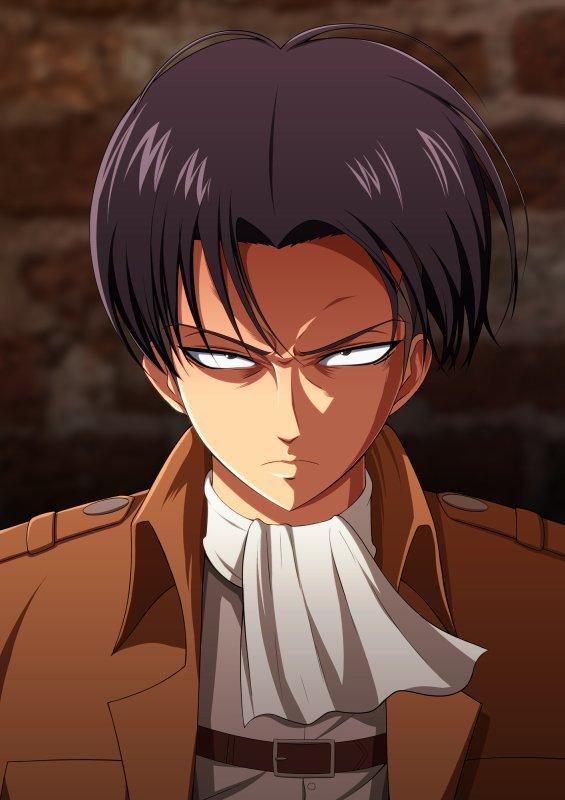 Image 222 : Vous ete Eren et Levi vous Regarde comme sa xD Votre Réaction ?