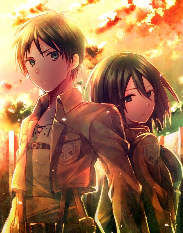 Image 234 : Mikasa x Eren [ Partie 3 ]
