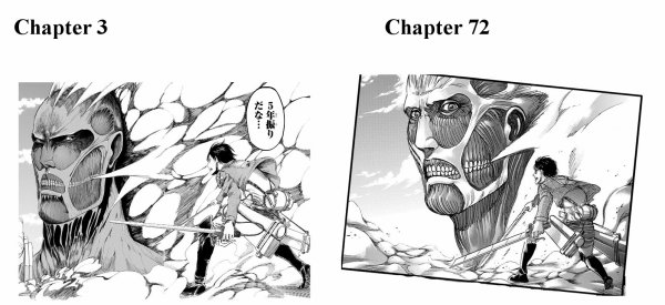 Image 289 : Bravo !  Hajime Isayama Pour l'evolution du Manga :)
