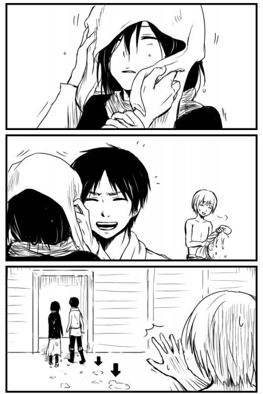 Image 298 : Mikasa quelle conne xDD Et Puis Jean.....x)
