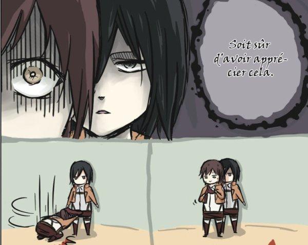 Image 310 : Sasha et Mikasa