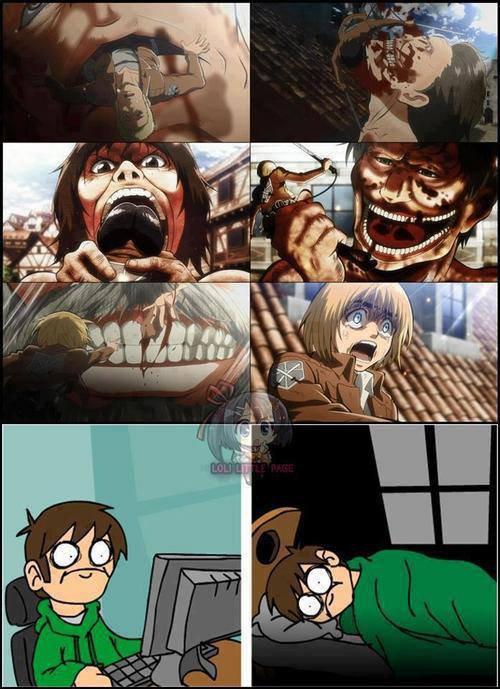 Image 331 : Quand tu sais pas ce qui t'attend dans les Episode suivant dans shingeki n kyojin