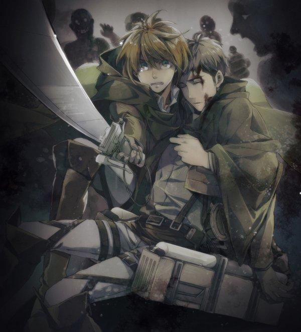 Image 349 : Jean x Armin [ Partie 2 ]
