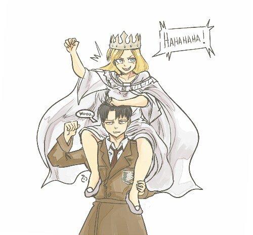 Image 353 : C'est bon elle est Reine elle peut tout faire xD