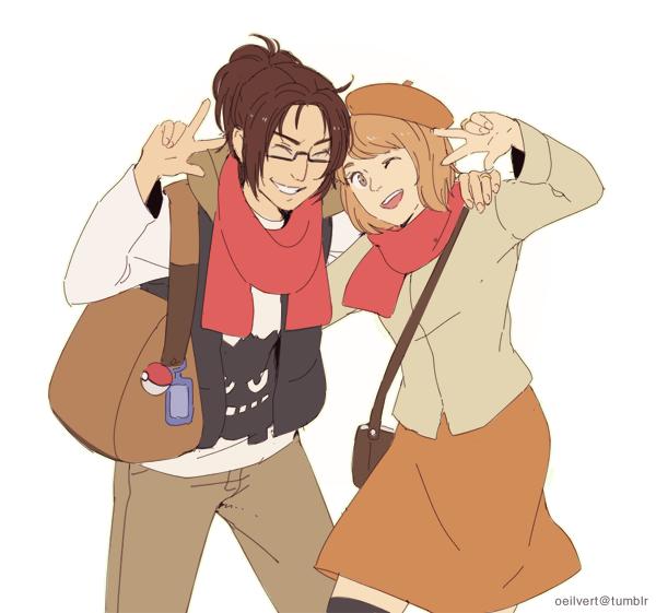 image 387 : Petra et Hanji ♥