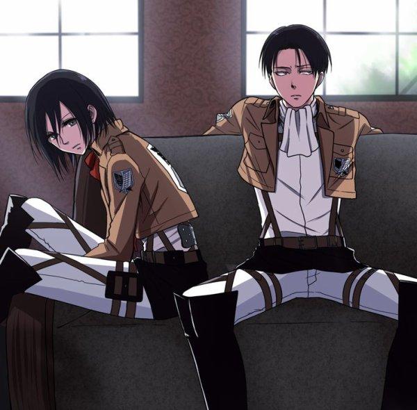 Image 406 : Mikasa x levi [ Partie 5 ]