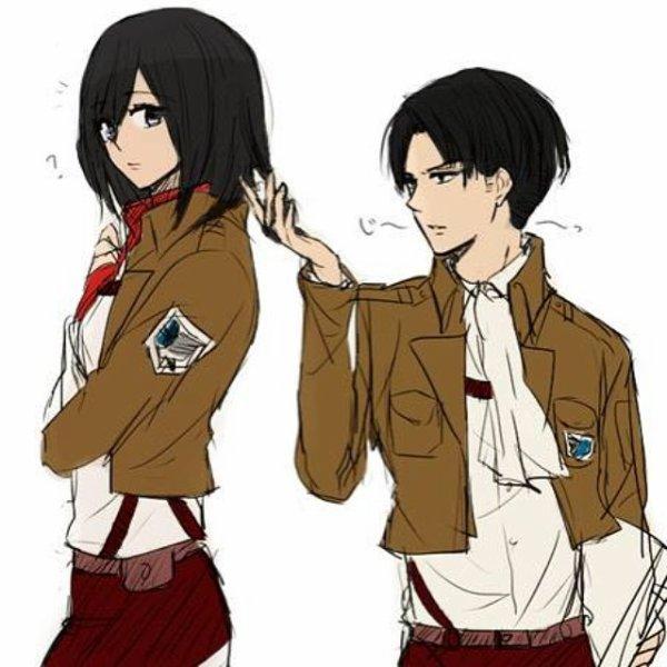 Image 407 : Mikasa x Levi [ Partie 6 ]