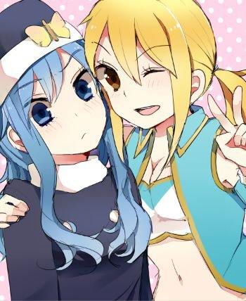 Image 409 : Lucy et Juvia