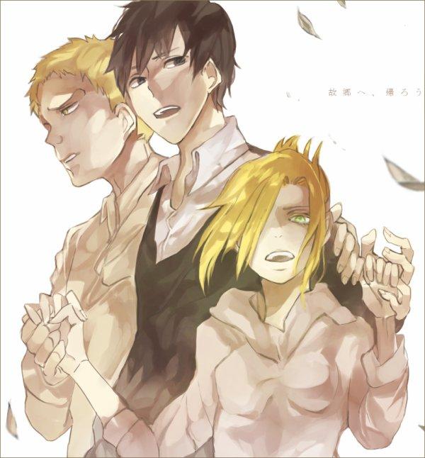 Image 412 : Bertholdt , Reiner et Annie