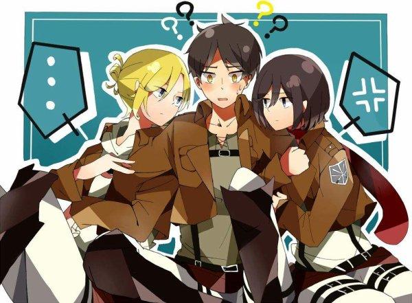 Image 432 : Mikasa et Annie