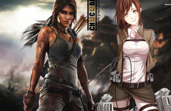 Image 496 : Ma pote me sort que Sasha Ressemble a Lara Croft XDDDD