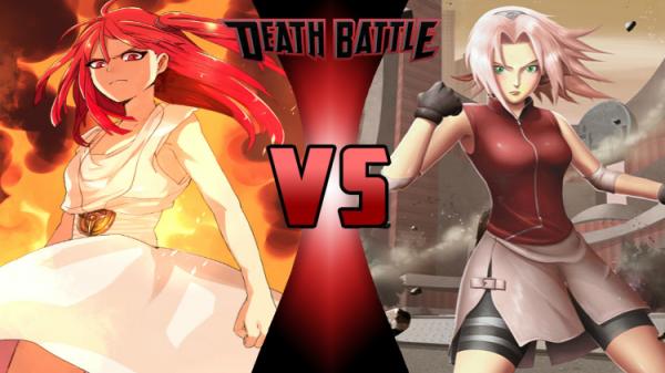 Image 511 : Niveau puissance  : Sakura vs Morgiana ? XD
