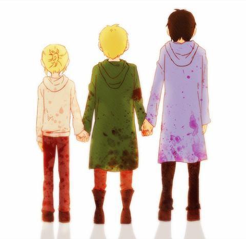 Image 230 : Annie , Bertholtd et Reiner Enfant