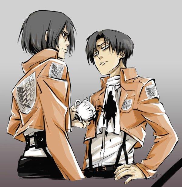 Image 267 : Mikasa vs Levi [ Partie 4 ]