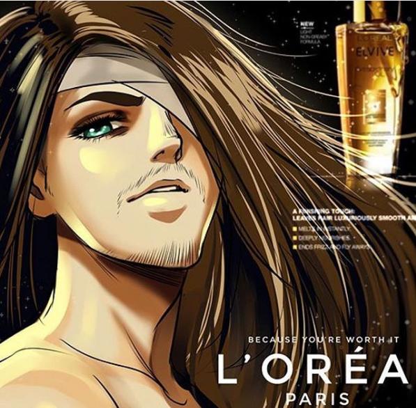 Image 1076 : Nouveau l' Oréal PARIS