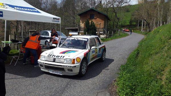 Rallye Lyon charbonnières 2015
