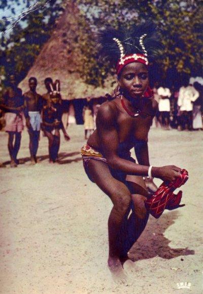Yacouba traditional dances, Ivory Coast
