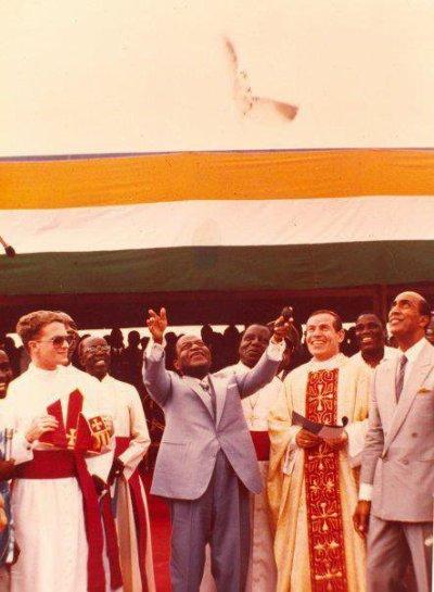 CÔTE D'IVOIRE - Anniversaire du Président Houphouët-Boigny 18 octobre 1992