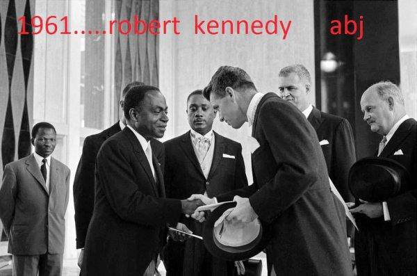 F.H.B     ET  LES  KENNEDY  aux  usa  ....1962