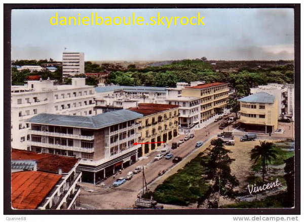 Cartes postales abidjan 1955 2010 chardy ave for Abidjan net cuisine 2010