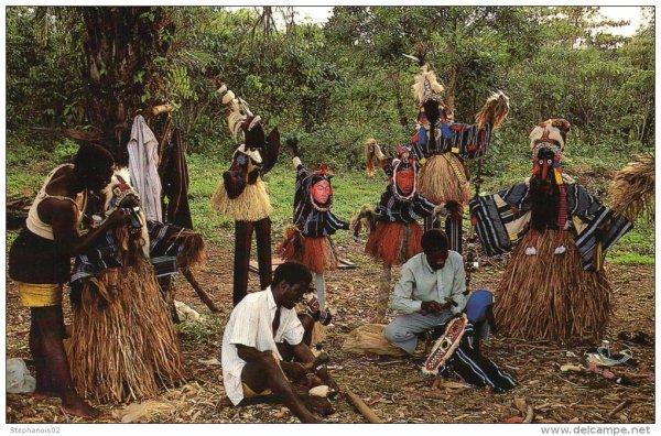 annees  1960  danses  au  village...dan...yacouba.....
