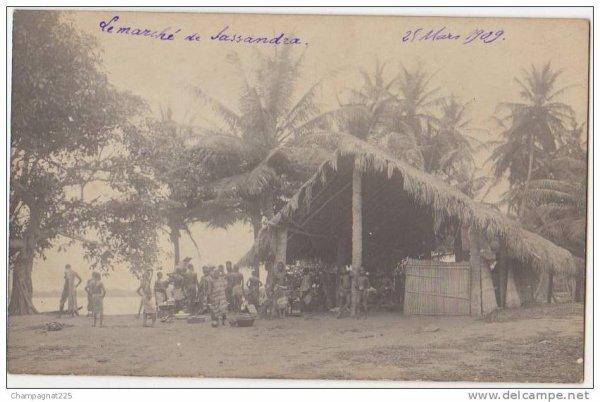 sassandra  epoque coloniale...1a..