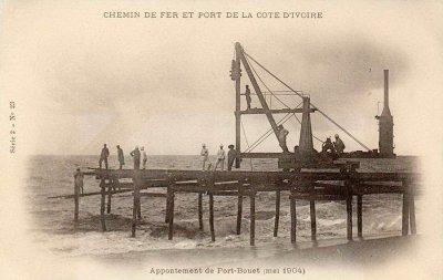 construction  canal  de  port  bouet...suite..1...