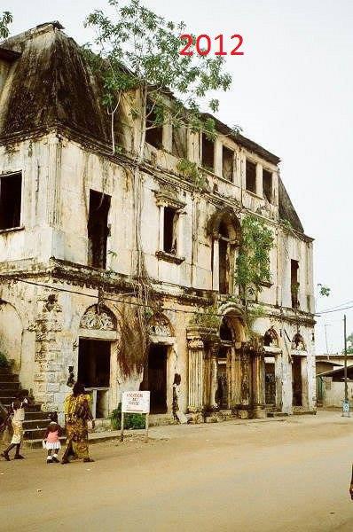 grand  bassam  ville  historique..la  maison  ganamet..