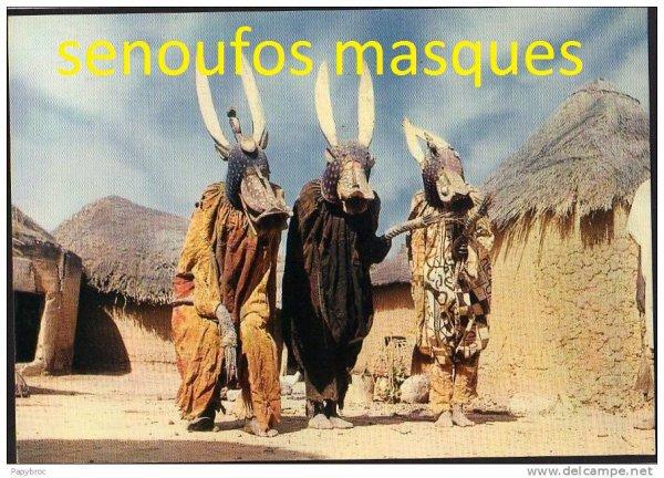 danses  ...musiciens....chez  les  senoufos..
