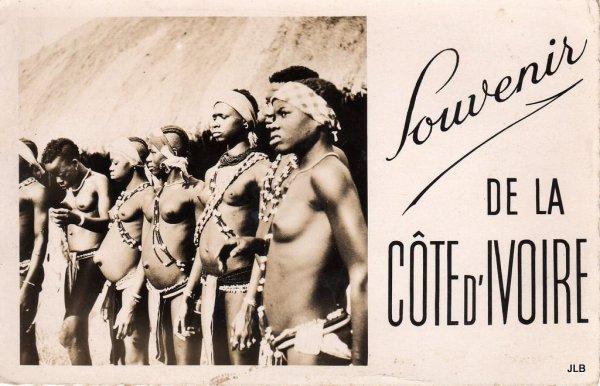 cartes  postales  de   cote  d  ivoire