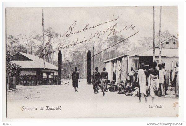 tiassale   epoque  coloniale....