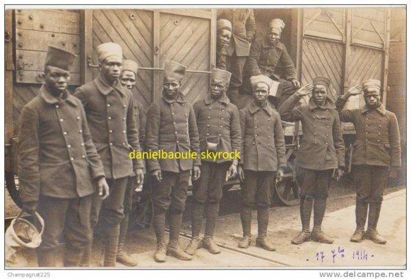 les  tirailleurs africains  ......guerre mondiale