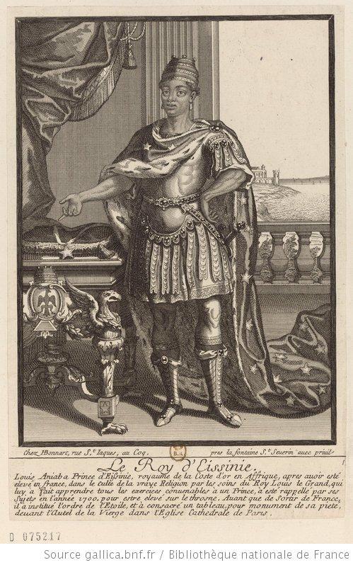 un  ivoirien  chez  le  roi  de  france...