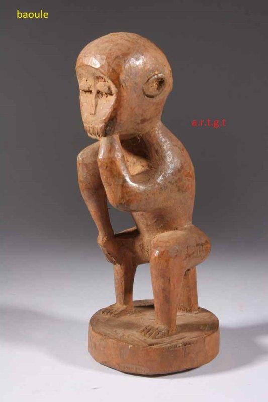 oeuvres d   art  chez  les  baoule