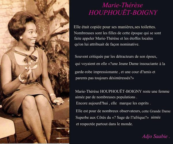 mme    therese  houphouet  de  boigny