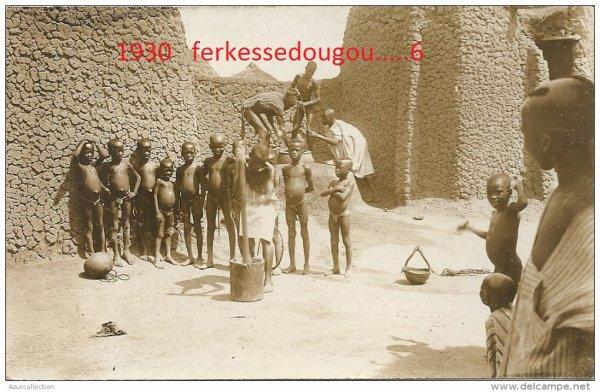 ferkessedougou...1930...la  vie  au  village...1  ere  partie
