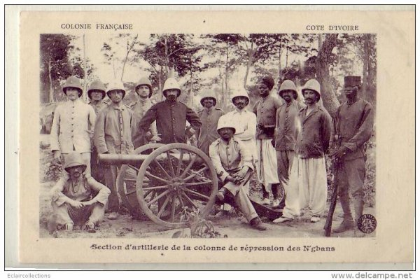 troupes  coloniales