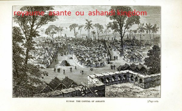 le   royaume  ashandi  et  sa  capitale  koumassi