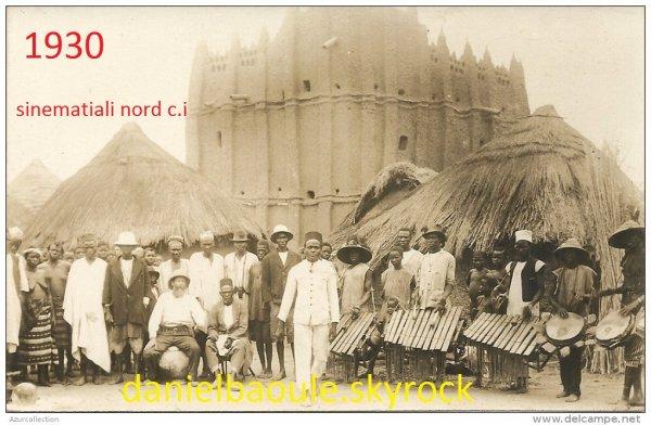 village  de  sinematiali dans le  nord de la  cote  d  ivoire ...region  du  poro
