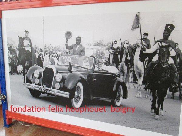 houphouet  boigny...images du  president