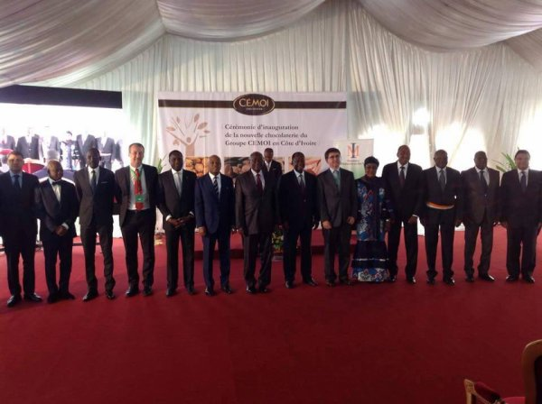 Côte d'Ivoire: première usine à chocolat à Abidjan