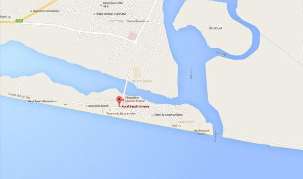 Côte d'Ivoire : une attaque sur la plage de Grand Bassam fait au moins 11 morts En savoir plus sur http://www.lemonde.fr/afrique/article/2016/03/13/cote-d-ivoire-tirs-sur-la-plage-de-grand-bassam_4881994_3212.html#Yq57TWT6tALYFBfT.99
