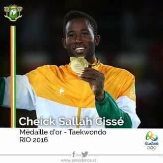 Côte d'Ivoire : Cheick Cissé, le médaillé d'or de taekwondo qui a failli ne pas participer aux JO