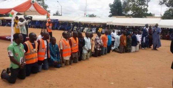 Côte d'Ivoire : Après avoir perçu les 5 millions FCFA, les mutins de Bouaké demandent pardon (Photo)