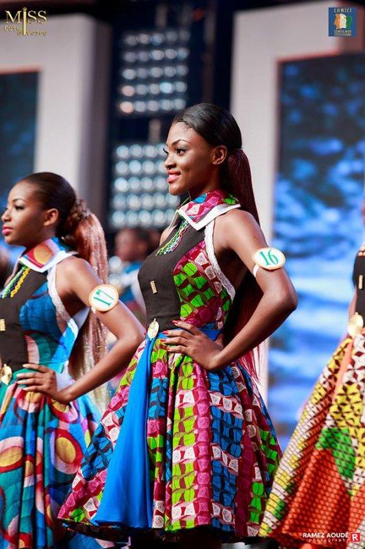 issCi2017 Miss Côte d'Ivoire 2017 - Troisième passage en tenue L'intégralité de la sélection