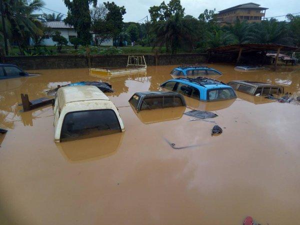 SAN  PEDRO  la  saison des pluies 2017